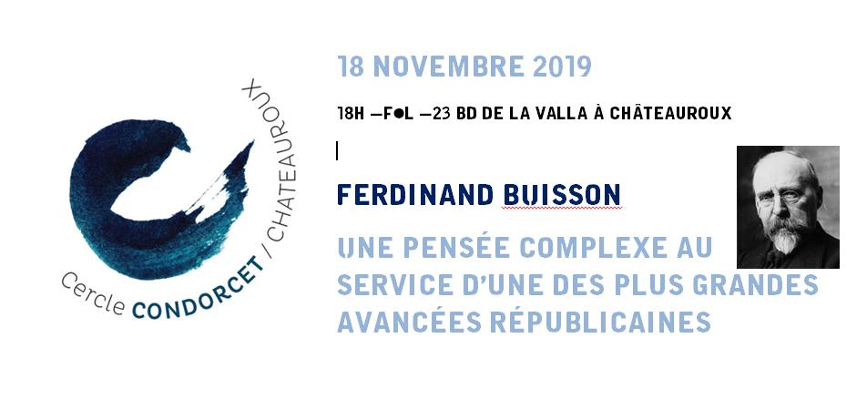 conf F. Buisson 18.11.2019